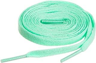 mint green shoelaces