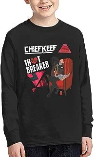 Chief Keef Kids' Long Sleeve T-Shirt Cotton Cool Printing Tee ShirtBlack