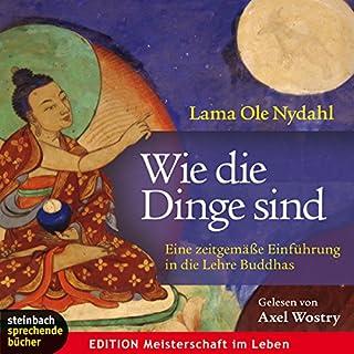 Wie die Dinge sind     Eine zeitgemäße Einführung in die Lehre Buddhas              Autor:                                                                                                                                 Ole Nydahl                               Sprecher:                                                                                                                                 Axel Wostry                      Spieldauer: 4 Std. und 21 Min.     404 Bewertungen     Gesamt 4,4