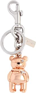 Coach NY 3d Bear Bag Purse Charm Key Ring - #87166 - Rose Gold