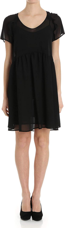 Twin-Set Women's TS82WB00006 Black Polyester Dress