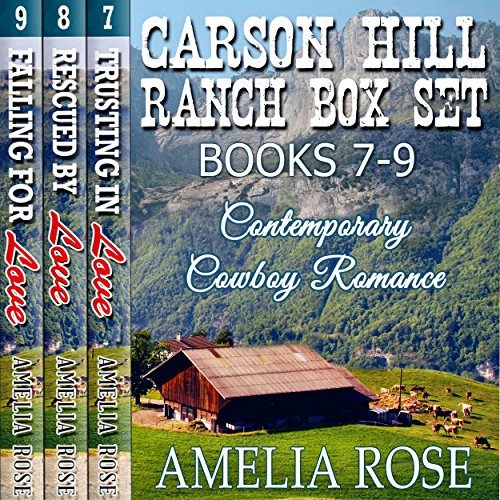 Carson Hill Ranch Box Set, Books 7-9 audiobook cover art