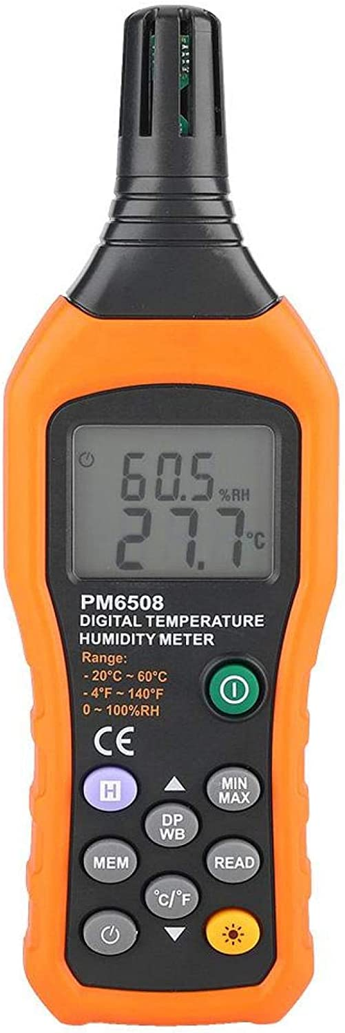 Digital Max 42% OFF Temperature Humidity Meter New product! New type High PM6508 Handhel Precision