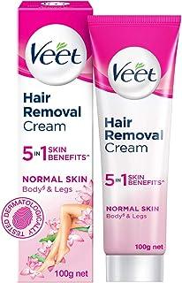 Veet Silk & Fresh Hair Removal Cream, Normal Skin -100 g