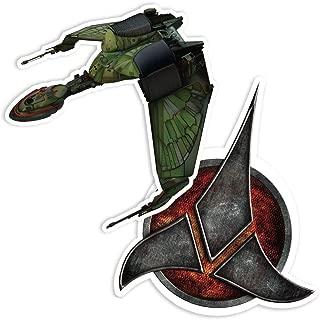 Popfunk Star Trek Next Generation Klingons Collectible Stickers