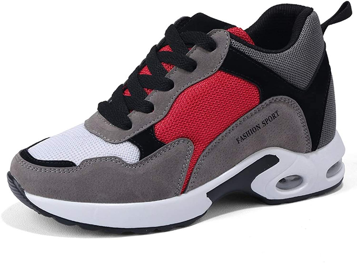 He-yanjing Women's Sneakers, Autumn and Winter Increased Women's shoes Thick-sol