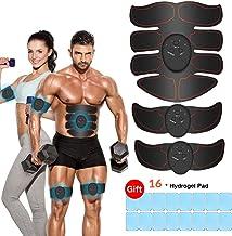 iThrough EMS Trainingsgerät, EMS Muskelstimulator,Professional Bauch Muskel Trainer..