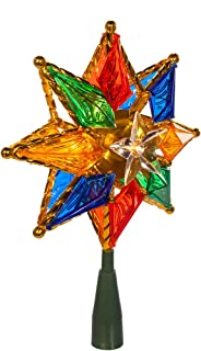 Best star tree topper with colored lights Reviews