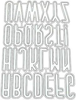 BMBN Dies stencil, alfabet grupp gör-det-själv metallskärning schablon scrapbooking för album stämpel papper kort hantverk...