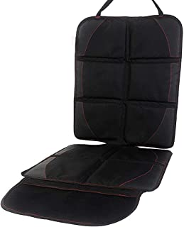 TECHVIDA Full Size Seat Protector, Child Car Seat Non-Slip Pad, Baby Seat Pad, Leather Seat Protector