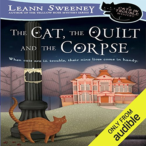 The Cat, the Quilt, and the Corpse audiobook cover art