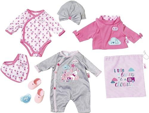 Vuelta de 10 dias BABY BABY BABY born Deluxe Care and Dress 823538 - Juego de ropita para muñeca  ventas en línea de venta