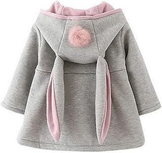 bfae944040712 ARAUS Manteau de bébé Filles Manteau Chaud d hiver Veste Chaud épais  Vêtements