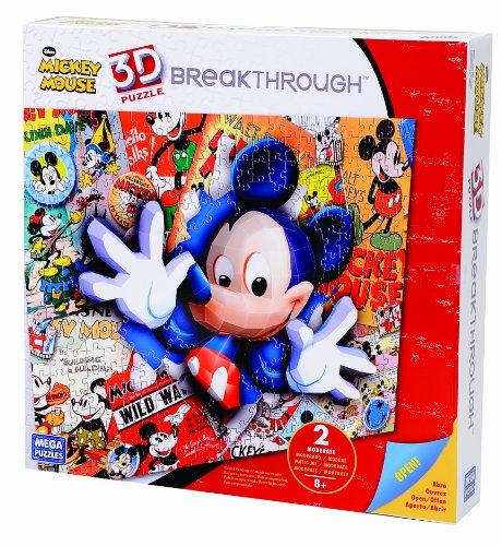 Mega Bloks 50674 Puzzle 3D Mickey Mouse