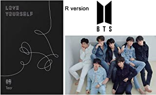 Bangtan Boys BTS Love Yourself Tear (R Version) 3rd Album CD+Poster+Photobook+Photocard+Standing Photo+Gift (Extra BTS 6 Photocards and 1 Double-Sided Photocard Set)
