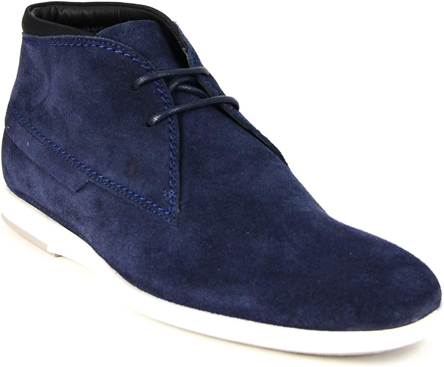 Tod's Men's Polacco Suede Leather Lace Up Oxfords Shoes, ALASSIA