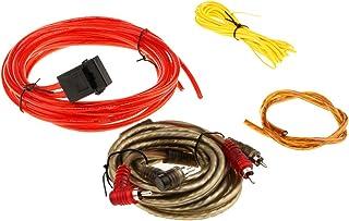 MagiDeal Kit De Cableado Amplificador de Coche Subwoofer de Audio RCA Cable AGU Fusible