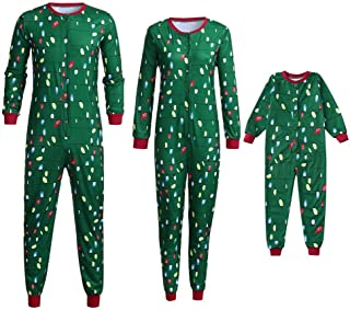 Kehen Matching Family Christmas Pajamas Set Xmas Jammies Soft Sleepwear Onesie Jumpusit for Adult Baby