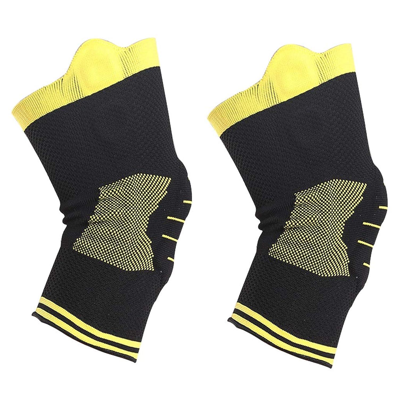 プロフェッショナル膝パッド、シリコンスプリングサポートスポーツプロテクター、衝突回避膝スリーブ、腿サポート安定化膝パッド - エルゴノミックフィット