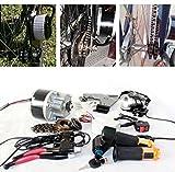 L-faster Cepillo eléctrico para Bicicleta – 250 W gaspedal eléctrico con schlüsselschalter y batteriespannung Fácil – Kit para DIY – E – Bike (24V 250W)