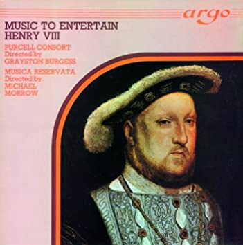 Music to Entertain Henry VIII