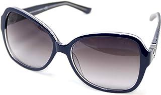 نظارة شمسية بتصميم مربع للنساء من جيس GF0275-90B-58 كحلي مع عدسات رمادية