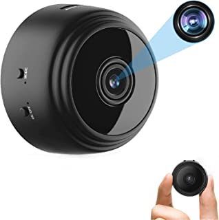 OVEHEL Spy Camera Wireless Hidden HD 1080P Small Security Video Camera Mini Nany Cam with Night Vision and Motion Activate...
