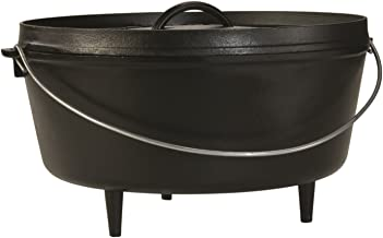 Lodge Deep Camp Dutch Oven 10 qt Black