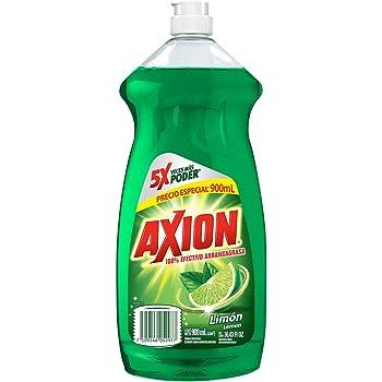 Axion Detergente Lavatrastes Liquido Limon, 900 ml