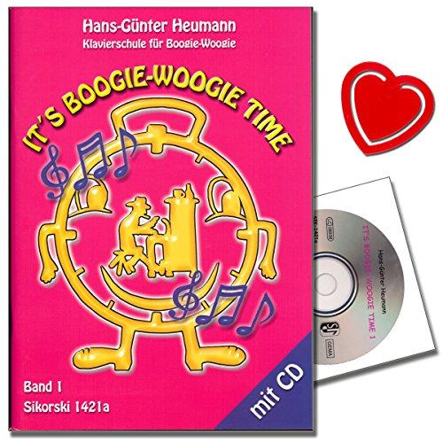 Het is Boogie Woogie Time – PIANO école pour boogies de Boogie-Woogie avec CD – Nick originele avec instructies et improvisationen du début à la perfection – avec cœur Note Pince