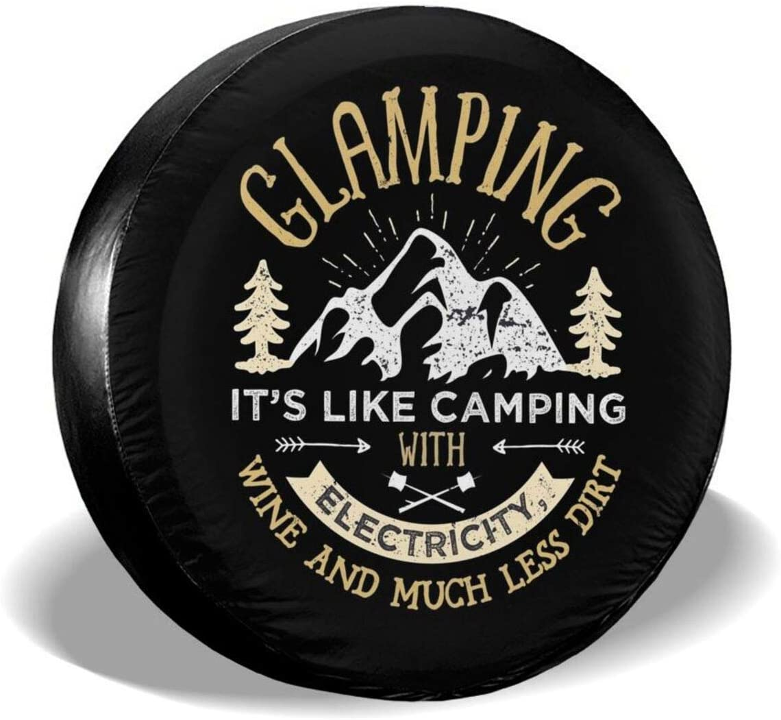Glamping It's New popularity Like Camping Spare Dust-Proo At the price Tire Waterproof Cover