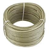Connex DY2701391 Câble multi-usage en Acier/moulé en Plastique avec noyau textile 30 m x 3 mm