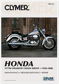 Manual de serviço Clymer para Honda VT750DC 01-06