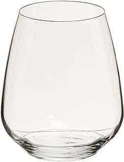 Luigi Bormioli Crescendo 23-1/4-Ounce Stemless Wine, Set of 4