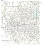 ZIP Code Wall Map of Fort Worth, TX ZIP Code Map Laminated