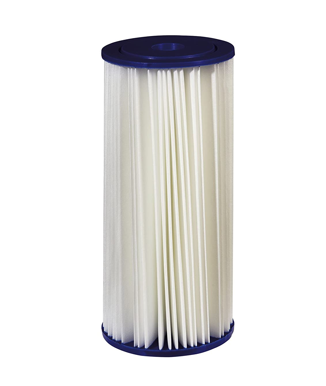 Filtrete Large Capacity Pleated Whole House Water Filter, Sump Style, Reduces 30 Microns Sediment, 1-Pack, (3WH-HDPL-F01)