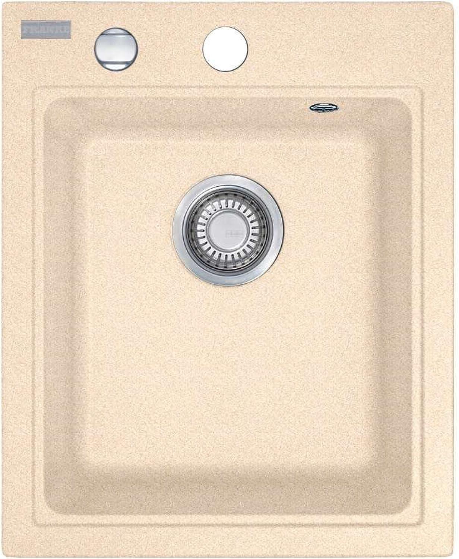 Franke Maris MRG 210-42 Beige Granit-Spüle Spülbecken flchenbündig Küchenspüle