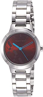Fastrack Casual Watch for Women, Stainless Steel - 6150SM02