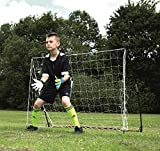 QUICKPLAY Travel Football Goal 1.5 x 1M – Develop Football Skills with this Ultra-Portable Football Goal