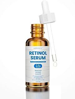 HOPEMATE Natural Facial Retinol Serum with Hyaluronic Acid& Vitamin E, New Skin Treatment Formula, Organic Anti Wrinkle Re...