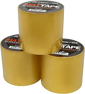 Meister Premium Mat Tape for Wrestling, Grappling and Exercise Mats - Clear