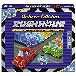 Think Fun - Rush Hour Deluxe, Juego de Mesa en español (TF5050) - Juego: Rush Hour Deluxe: Deluxe Edition Rush Hour: Amazon.es: Juguetes y juegos