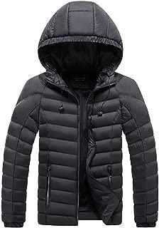 Mens Outwear Tracksuit Winter Zipped Warm Casual Long Sleeve Coat Beautyfine