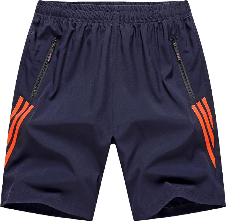 Segindy Men's Sports Shorts Summer Fashion Large Size Comfortabl