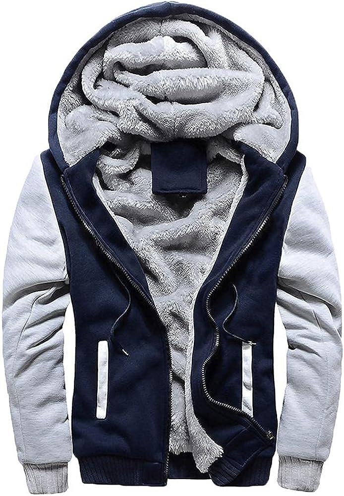 Men's Hoodies Jacket Winter Animer and price revision Warm Velvet Fleece Uni Today's only Plus Baseball