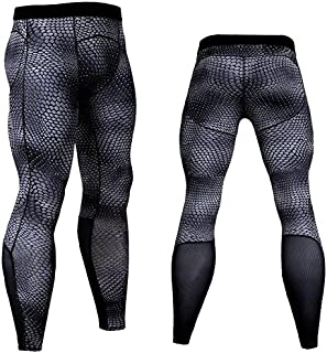 Cavalaria Men's Compression Pants Base Layer Cool Dry Tights Gym Running Leggings