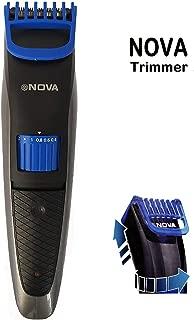 Bamchak™ Nova NS-2019 Rechargeable Cordless Trimmer for Men 19 Speed Adjustment & Trim Length 0.4-8.5 mm Shaving System