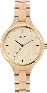 Mam originals Womens Analog Japanese quartz Watch with Other bracelet SILT 606
