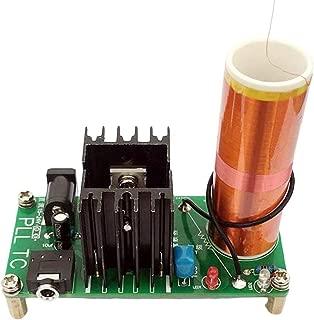 HiLetgo Tesla Coil Arc Experiment Plasma High Temperature High Pressure Plasma Magical Scientific Experiment Students Electronic DIY Production with Music Playback Input Voltage 15-24V 15W 2A