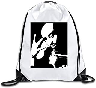 2pac Lightweight Drawstring Bags Backpack White Size One Size